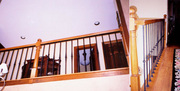 Wrought Iron Interior Handrails,  Houston